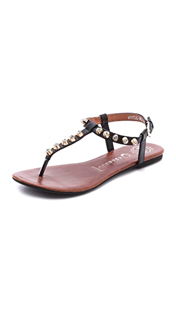 Jeffrey Campbell Mystic Studded Thong Sandals