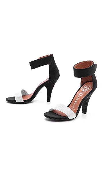 Jeffrey Campbell Hough Ankle Strap Sandals