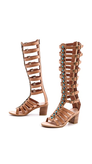 Jeffrey Campbell Sade Embellished Gladiator Sandals