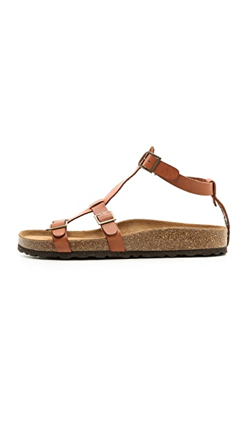 Jeffrey Campbell Cesar Ankle Strap Flat Sandals
