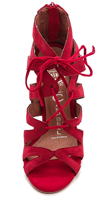 Jeffrey Campbell Laramie Lace Up Sandals