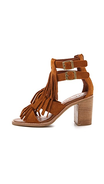 Jeffrey Campbell Dodge Fringe Sandals