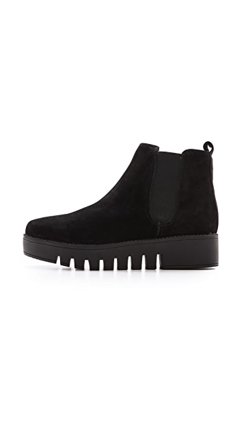 Jeffrey Campbell Hoshi Lug Sole Chelsea Booties