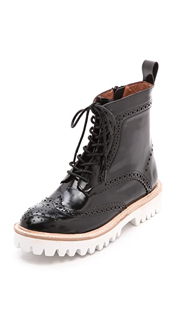 Jeffrey Campbell Clash Lug Sole Combat Boots