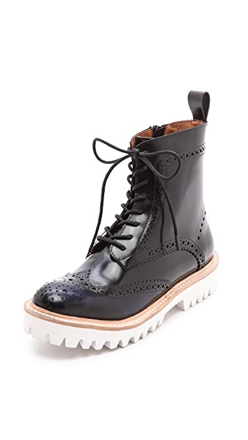 Jeffrey Campbell Clash Lug Sole Booties