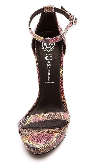 Jeffrey Campbell Finola Ankle Strap Sandals