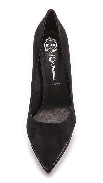 Jeffrey Campbell Замшевые туфли-лодочки Fuego