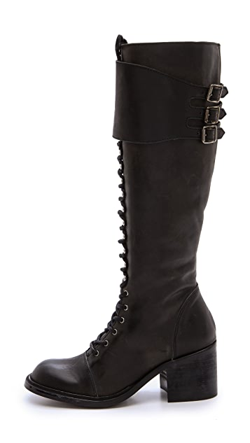 Jeffrey Campbell Tall Combat Boots