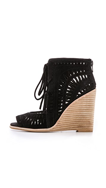 Jeffrey Campbell Rodillo Suede Wedges