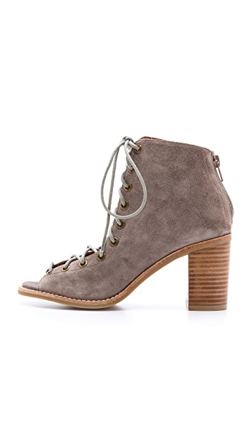 Jeffrey Campbell Cors Suede Booties