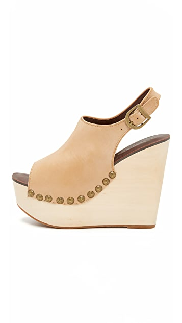 Jeffrey Campbell Snick Wedge Sandals