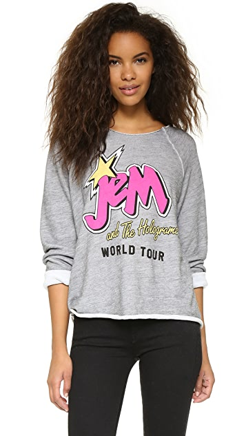 Jem and the Holograms Wildfox World Tour Sweatshirt