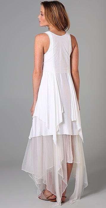 Jen Kao Tiered Gleaner's Dress