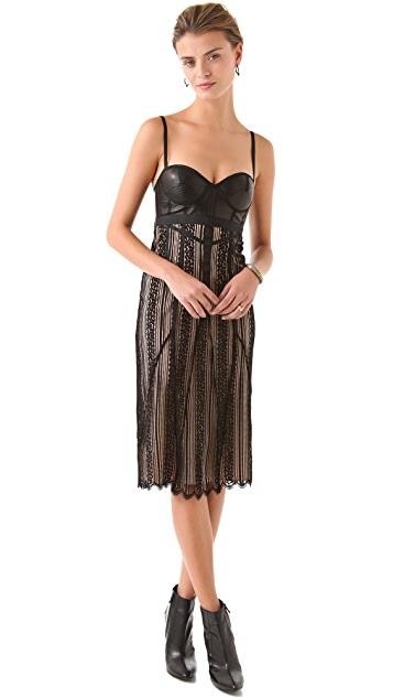 Jen Kao Lace Slip Dress