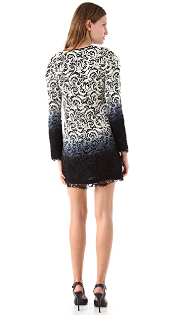 Jen Kao Newsgirl Lace Shelly Dress
