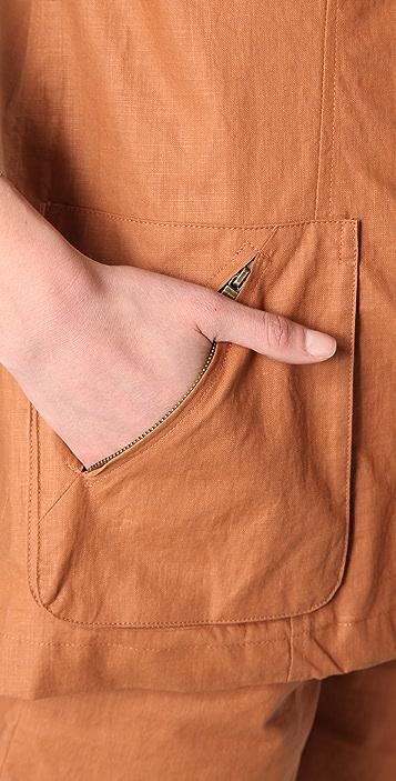 Jenni Kayne Zip Pocket Blazer