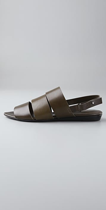 Jenni Kayne 3 Band Flat Sandals