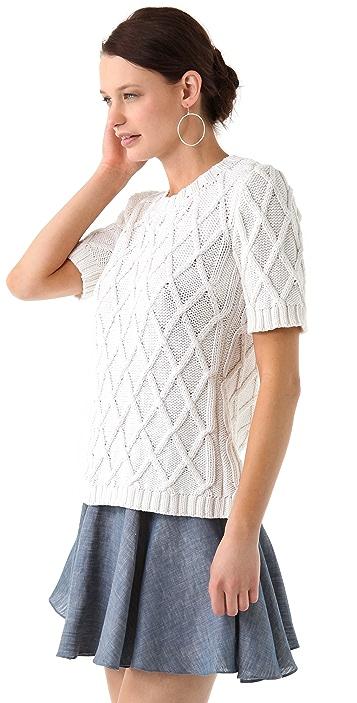 Jenni Kayne Short Sleeve Sweater