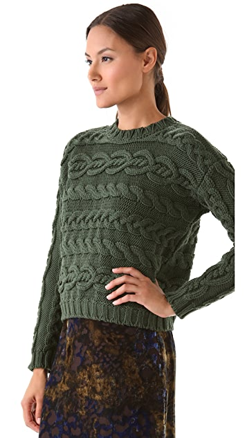 Jenni Kayne Cable Sweater