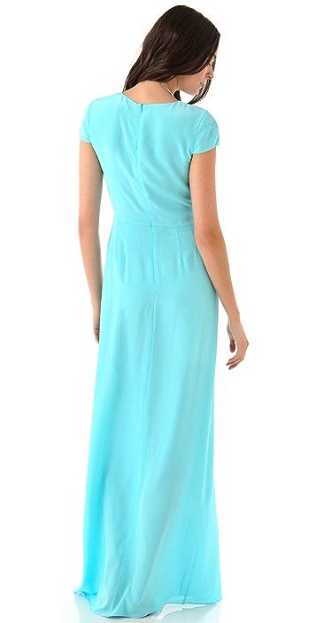 Jenni Kayne Cap Sleeve Silk Gown