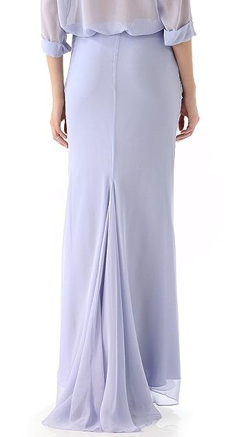 Jenni Kayne Godet Back Skirt