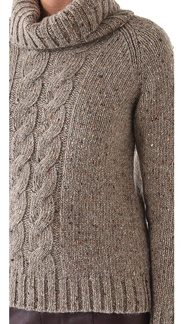 Jenni Kayne Cable Turtleneck Sweater