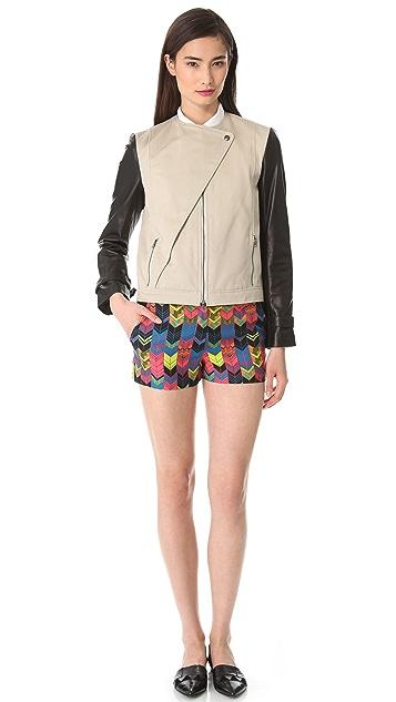 Jenni Kayne Flat Front Shorts