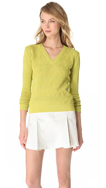 Jenni Kayne V Neck Sweater