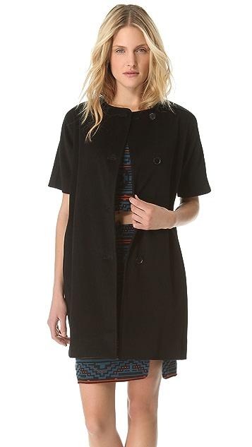 Jenni Kayne Short Sleeve Round Coat