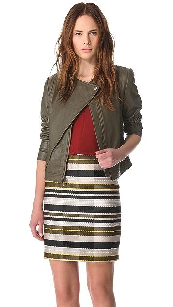 Jenni Kayne Leather Moto Jacket
