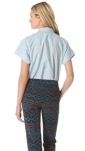 Jenni Kayne Short Sleeve Shirt