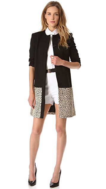 Jenni Kayne Pony Panel Coat