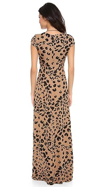 Jenni Kayne Cap Sleeve Gown