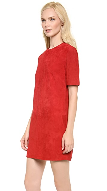 Jenni Kayne Suede Shift Dress
