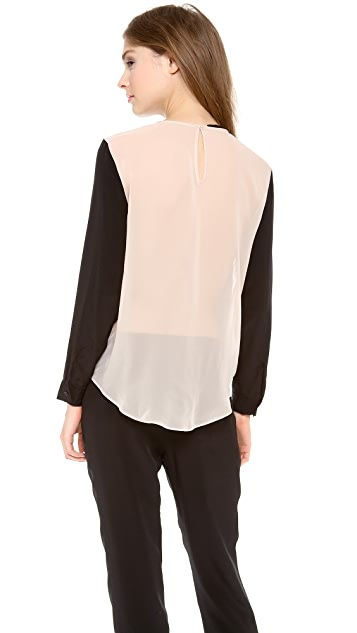 Jenni Kayne Open Neck Top