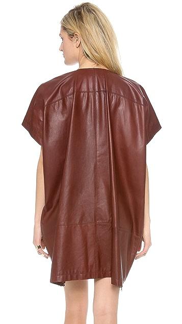 Jenni Kayne Leather Poncho