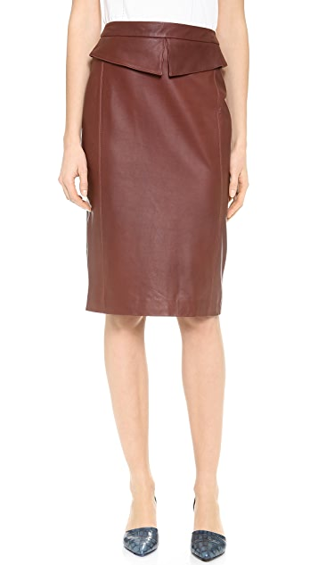 Jenni Kayne Peplum Pencil Skirt