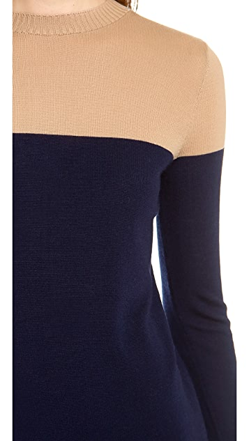 Jenni Kayne Side Slit Crew Neck Sweater