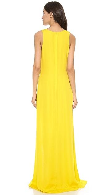 Jenni Kayne Thigh Slit Gown