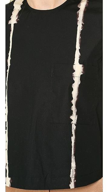 Jenni Kayne Paint Stripe Crop Tank