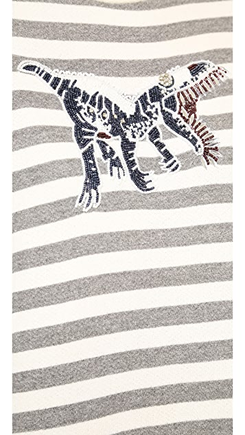 Jenni Kayne Dinosaur Sweatshirt
