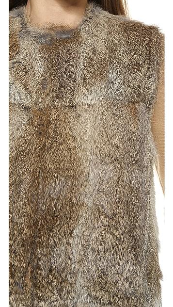Jenni Kayne Fur Vest