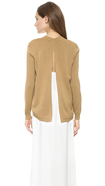 Jenni Kayne Open Back Sweater