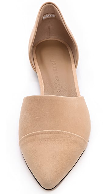 Jenni Kayne Leather d'Orsay Flats