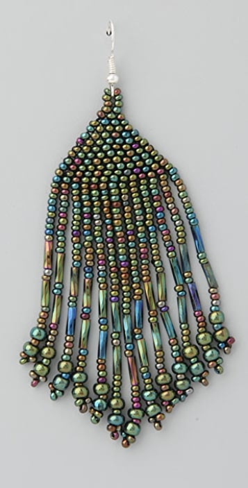 Jen's Pirate Booty Iridescent Earrings