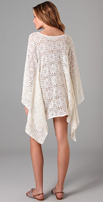Jen's Pirate Booty French Lace Caftan Tunic