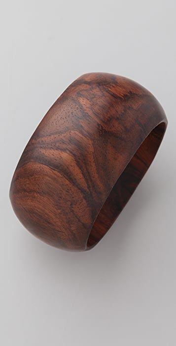 Jen's Pirate Booty Thick Wooden Bangle