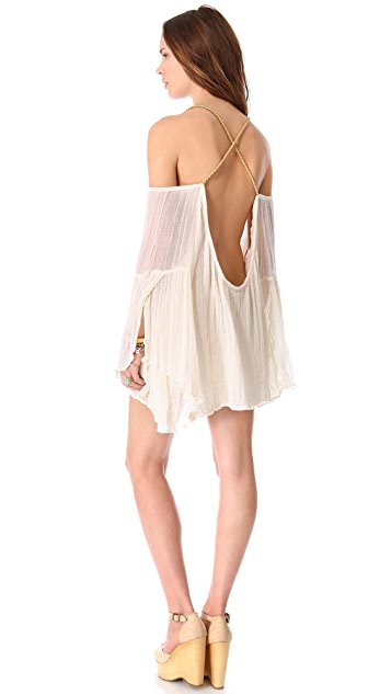 Jen's Pirate Booty Grecian Wildlife Mini Dress