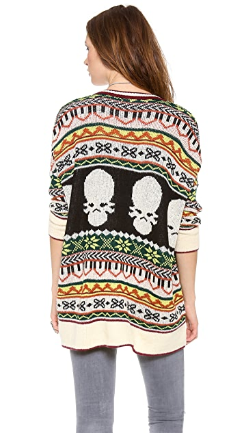 Jen's Pirate Booty Hobo Blues Sweater