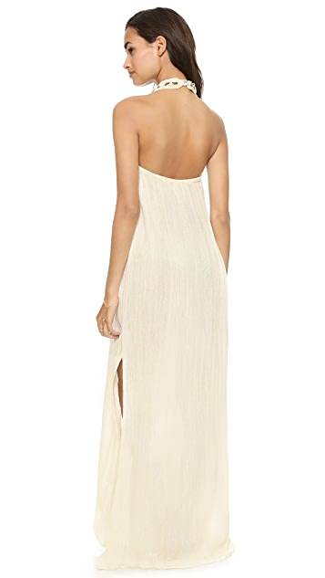 Jen's Pirate Booty Casa Blanca Maxi Dress